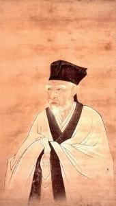 雨森芳洲翁の肖像畫