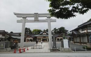 広島県護国神社参拝。広島城見学。其の後、長州にて林氏と面会