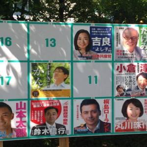 東京選挙区の掲示板