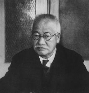 端正な日本語で健筆を振るつた徳富蘇峰翁